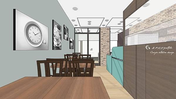 大墩咖啡店設計6