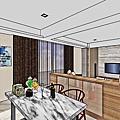 彰化 泉宇仰哲 室內裝潢設計 系統櫥櫃設計 室內規劃設計