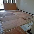 2樓 主臥室 地板防護