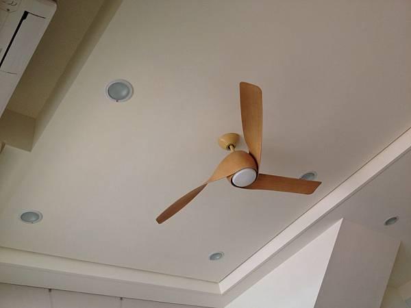 客廳造型吊扇設計
