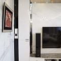 電視牆壁面收納櫃
