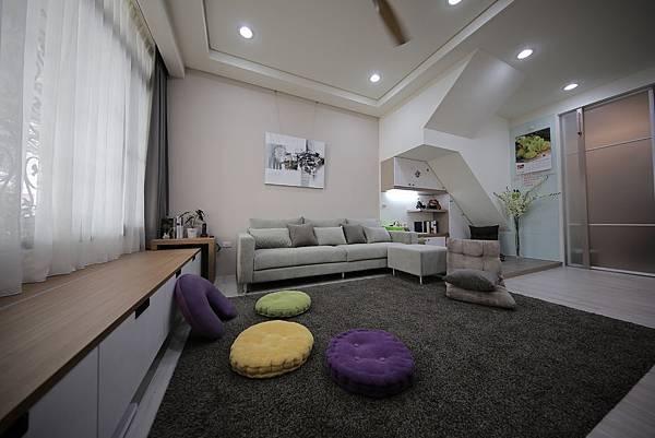 台中系統櫃客廳空間設計