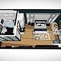 台中汽車旅館設計01 |美式混搭設計