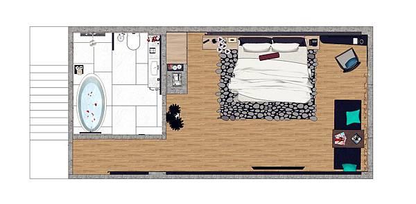 汽車旅館小套房設計平面圖_副本.jpg