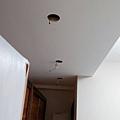 天花板崁燈燈具安裝紀錄