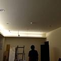 現場燈具安裝進度
