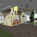 台中圖書館設計櫃台4