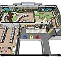 台中圖書館設計俯視圖2