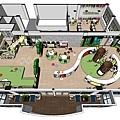 台中圖書館設計俯視圖1