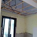天花板角材施做 預留窗簾盒.jpg
