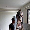 工程收尾階段 (3) 燈具安裝施工