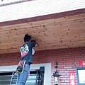 工程收尾階段 (6) 外部騎樓燈具安裝