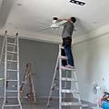 工程收尾階段 (9) 吊扇安裝