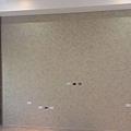 工程收尾階段 (14) 電視主牆面漆施工