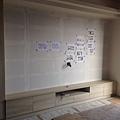 登陽廊香 客廳空間系統電視櫃組裝完成.jpg