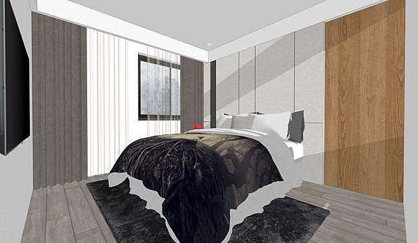 台中老屋翻新 主臥室空間設計.jpg