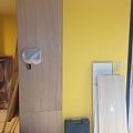 登陽廊香 玄關空間對講機移位完成 待油漆批土刷色施工.jpg