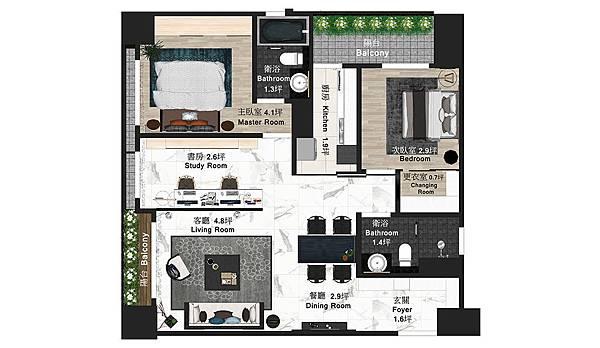遠雄之星5 室內規劃平面圖.jpg