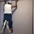 惠宇建設 惠宇新觀 Q戶 次臥室油漆跳色膠帶貼附修邊處理.jpg