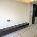 惠宇建設 惠宇新觀Q戶 客廳空間電視牆油漆刷色施工完成.jpg