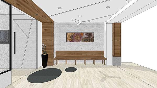 台中診所室內設計 入口等候區設計.jpg