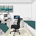 台中診所室內設計 耳鼻喉科診所診療室空間設計 (2).jpg