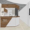 台中診所室內設計 櫃檯區空間設計 (2).jpg