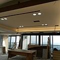 餐廳空間天花板LED崁燈安裝2.jpg