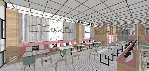 餐廳設計 用餐區座位區主牆設計.jpg