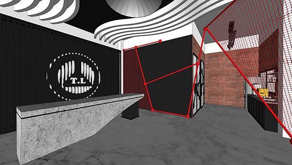 台中辦公室設計 入口接待區造型鐵件設計.jpg