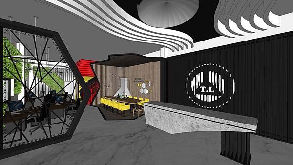 台中辦公室設計 入口接待區櫃台設計.jpg