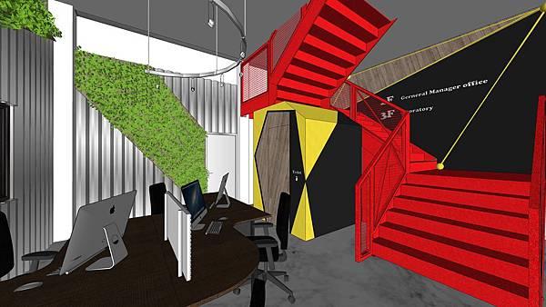 台中辦公室設計 樓梯間空間設計.jpg