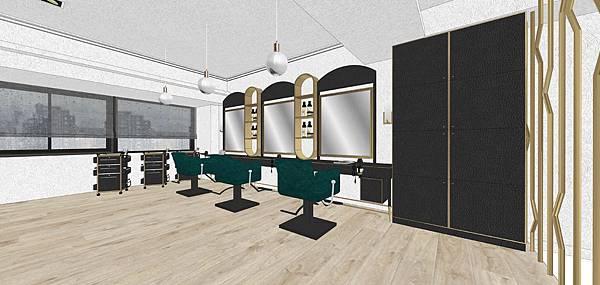 沙龍剪髮區設計 台中室內設計.jpg