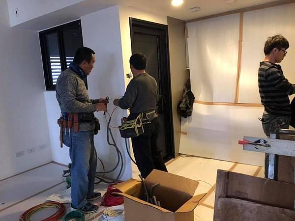 登陽穗悅住宅設計 餐廳空間插座及開關延伸施工.jpg
