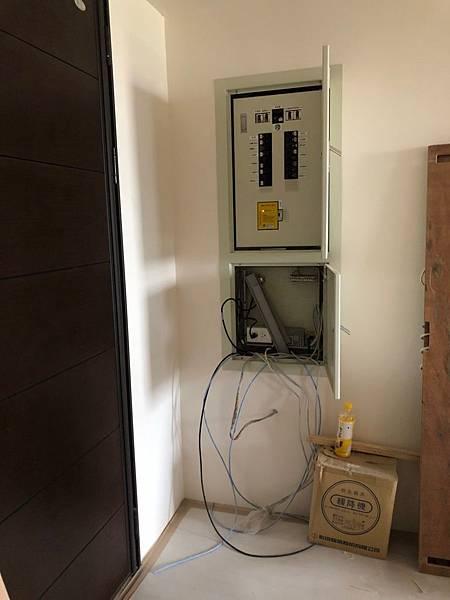登陽穗悅室內設計 弱電箱線路配線施工狀況記錄.jpg