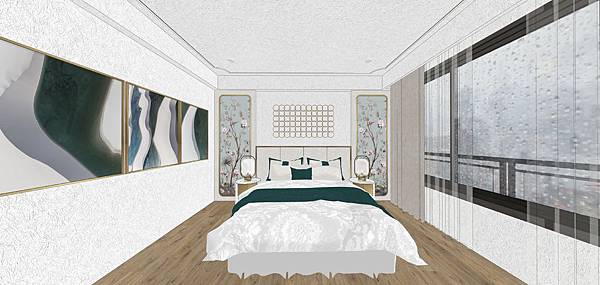 太和安縵住宅設計 主臥室床頭背牆設計.jpg