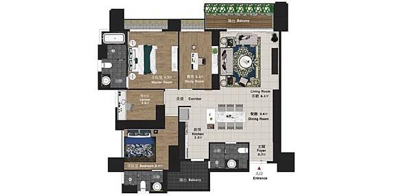 太和安縵住宅設計 室內設計平面圖規劃.jpg