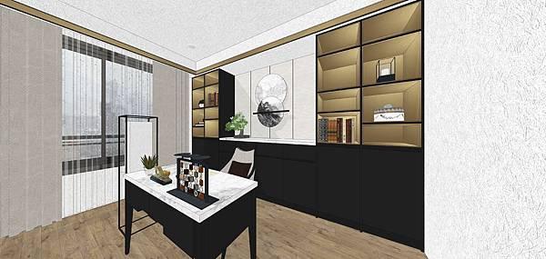 太和安縵住宅設計 書房空間設計.jpg