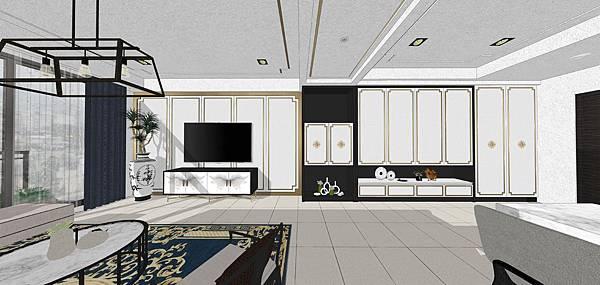 太和安縵室內設計 玄關空間及客廳空間電視牆設計.jpg