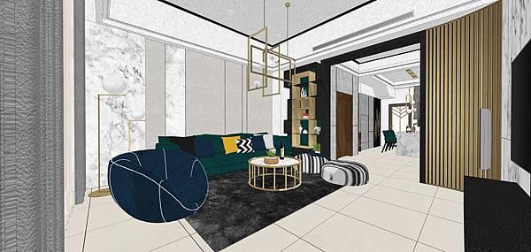 樹禾院住宅設計 一樓客廳空間設計.jpg