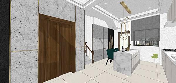 樹禾院住宅設計 一樓餐廳空間設計.jpg