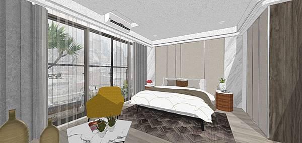 樹禾院住宅設計 二樓主臥室空間設計.jpg