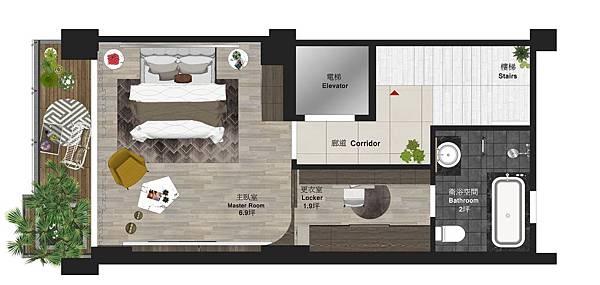 樹禾院住宅設計 二樓平面圖規劃設計.jpg