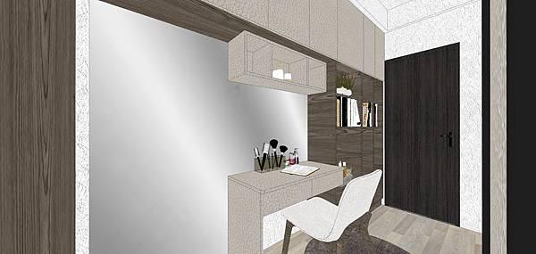 樹禾院住宅設計 主臥室更衣室空間設計.jpg