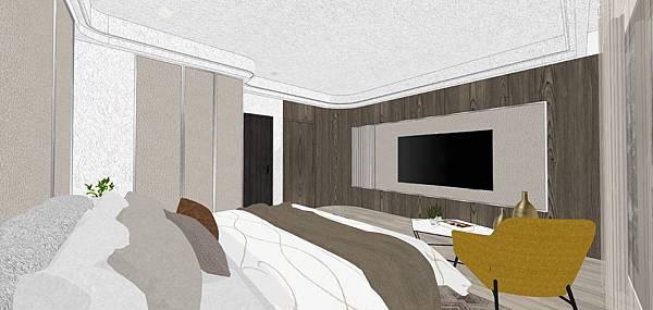 樹禾院住宅設計 二樓主臥室設計.jpg