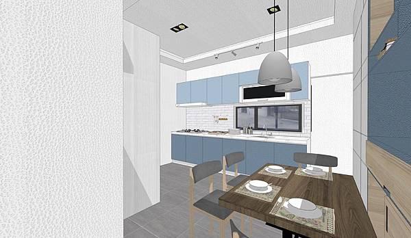 台中住宅設計 餐廳廚房