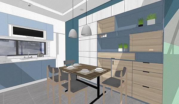 台中住宅設計 餐廳