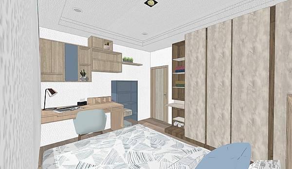 台中住宅設計 次臥室4