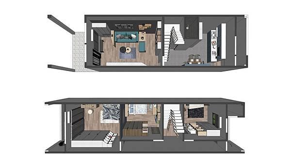 台中住宅設計 空照