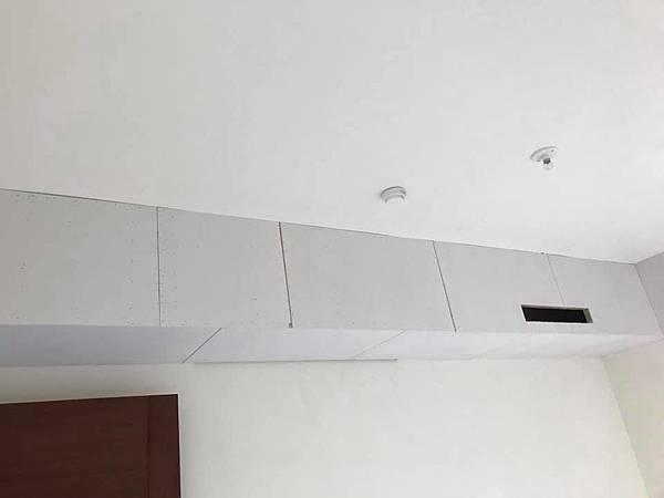 惠宇新觀室內設計 女孩房冷氣包樑處矽酸鈣封板施工.jpg